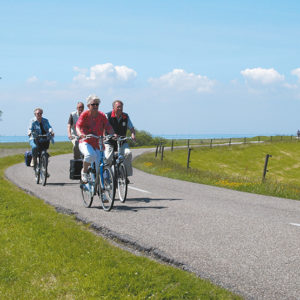 Batavus E-bike test arrangement Friese Elfsteden