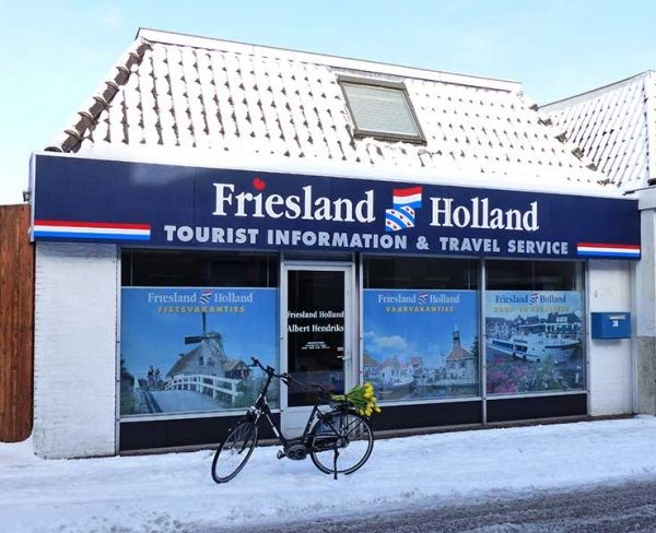 Friesland Holland Kantoor. Fietsvakantie in Friesland. Full Service.