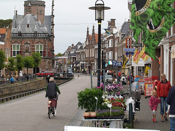 De Marktstraat in Bolsward